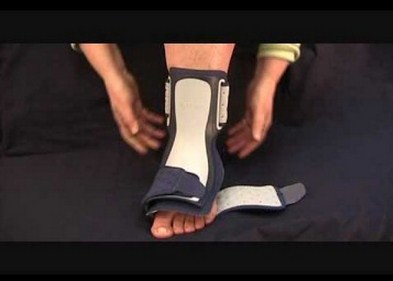 foot orthoses for heel support in sever disease